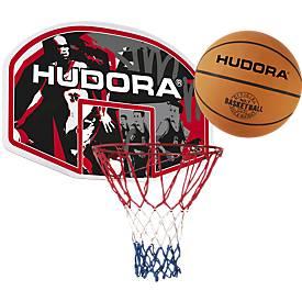 SET Basketballkorbset In-/Outdoor + Basketball