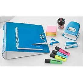 SET Farbenfrohe Bürohelfer, 8-teilig