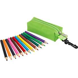SET Mini-Buntstifte Small Idea, 12 Stück, grün