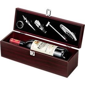 SET Wein, in Holzbox, 5teilig