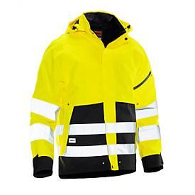 Shell Jacke HiVis gelb/schwarz S