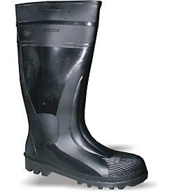 Sicherheits-PVC-Stiefel S5 schwarz