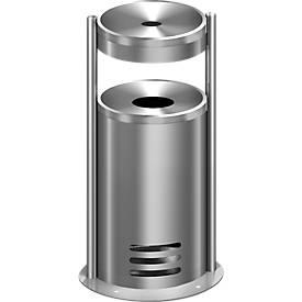 Sicherheitsascher/Abfallbehälter tec-art E
