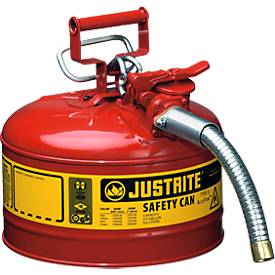 Sicherheitsbehälter Typ II aus Stahlblech, 9,5 l