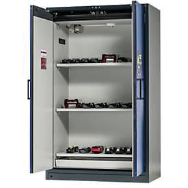 Sicherheitsschrank Battery Store Pro, 3 Gitter + 1 Bodenauffangwanne, B 1193 x T 615 x H 1953 mm