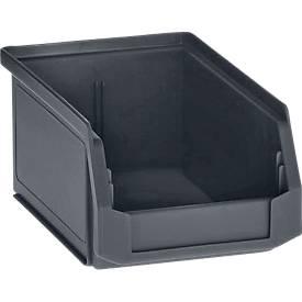 Sichtlagerkasten Größe LF 211, Kunststoff, ohne Tragestab, verschiedene Größen