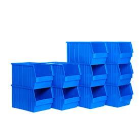 Sichtlagerkasten mit Tragestab SSI Schäfer TF 14/7-3, Polyethylen, L 343 x B 209 x H 200 mm, 10 l, blau, ab 1 Stück