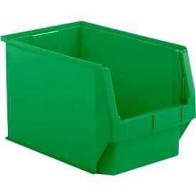 Sichtlagerkasten Serie 533, aus PP-Kunststoff, Inhalt 38 L, für Lagerbereich