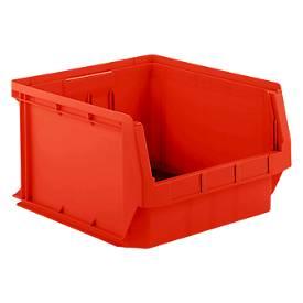 Sichtlagerkasten Serie 543, aus PE-Kunststoff, Inhalt 57 L, für Lagerbereich
