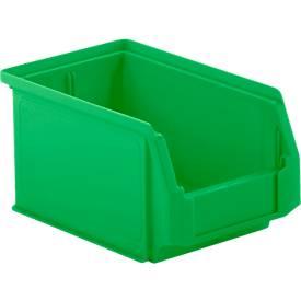 Sichtlagerkasten Serie LF 221, aus PP-Kunststoff, Inhalt 2,7 L, für Lagerbereich