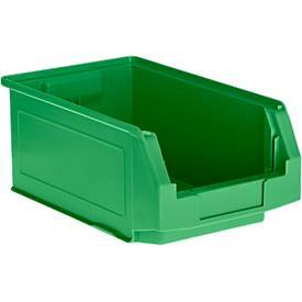 Sichtlagerkasten Serie LF 321, aus PP-Kunststoff, Inhalt 7,5 L, für Lagerbereich