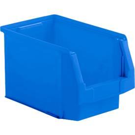 Sichtlagerkasten Serie LF 322, aus PP-Kunststoff, Inhalt 10,4 L, für Lagerbereich