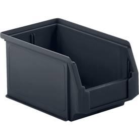 Sichtlagerkasten Serie LF, aus recyceltem Kunststoff, diverse Größen