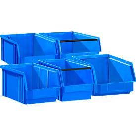 Sichtlagerkasten TF 14/7 SET, Kunststoff, verschiedene Größen