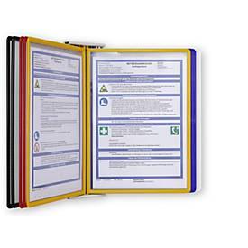 Sichttafel-Set, 10 Drehzapfentafeln A4, farblich sortiert