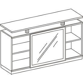Sideboard WINEA COMPACT, H 910 x B 1600 x T 460 mm