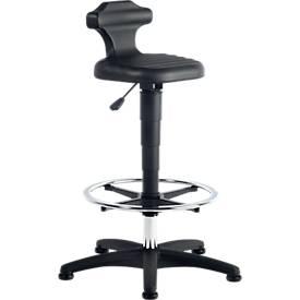 Siège assis à patins et repose-pieds debout FLEX 3. Rotation libre à 360°!