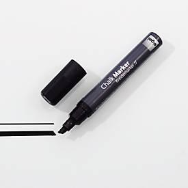 sigel Hochwertige Kreidemarker, 1 - 5 mm, GL-180, schwarz