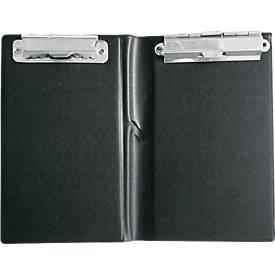 sigel® Kassenblockmappe KC626, 120 x 180 mm, mit 2 Metallklemmen und Stifthalter