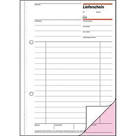 sigel® Lieferschein mit Empfangsschein LI525, DIN A5 hoch, 2 x 50 Blatt