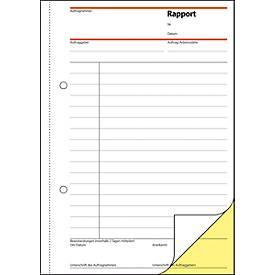 sigel® Rapport SD025, DIN A5 hoch, 2 x 40 Blatt, selbstdurchschreibend