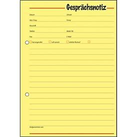 sigel® Gesprächsnotiz GE513, DIN A5 hoch, 50 Blatt