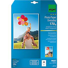 sigel® Inkjet-Fotopapier Everyday