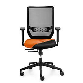 Sitz-Husse, für Bürostuhl to-sync work, nachrüstbar, orange