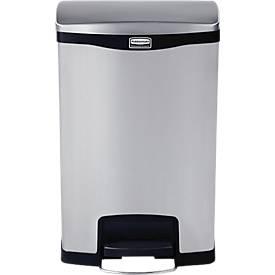 Slim Jim® Step- ON- Tretabfallbehälter, 2Eimer