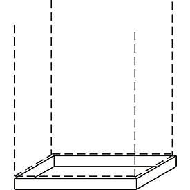 Sockel ALMONDO, B 1200 mm