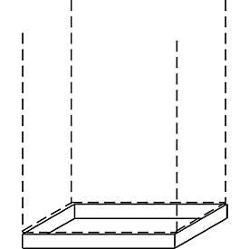 Sockel ALMONDO, B 800 mm