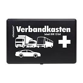 Soehngen EHBO-kit voor auto's, kunststof, met extra bakje, voor eerste hulp bij ongevallen.