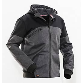 Softshell Hooded Jacket Advanced zwart/zwart L