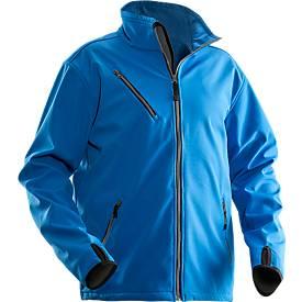 Softshell Jacke Jobman 1201 PRACTICAL, blau, Polyester I Elastan, M