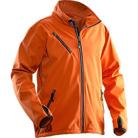 Softshell Jacke  orange 3XL