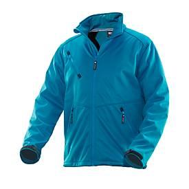 Softshell Jasje blauw 3XL