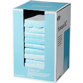 Sontara® EC Krepp Wischtücher, türkis, 1000 Tücher/Karton