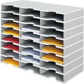 Sortierstation styrodoc® Standard SET, 8 Etagen/3-reihig/24 Fächer