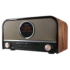 Soundmaster Nostalgie-Stereo-Musikcenter, DAB+-Radio, CD-Player, Bluetooth