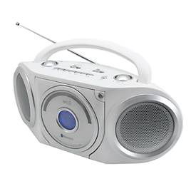 Soundmaster UKW-Radio Boombox RCD5000WE, Bluetooth, 2 x USB, mit CD-Player