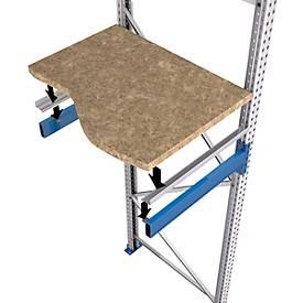 Spanplatte für Palettenregal PR600 zum Auflegen - 1.900 x 1.100 mm