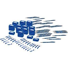 Spar-Set Journey, 120 Teile, je 40 Kugelschreiber, Starmint-Boxen, Flaschöffner