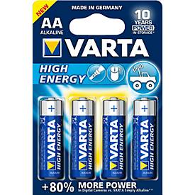 Sparpacks Batterien VARTA HIGH ENERGY,1,5V, versch. Größen