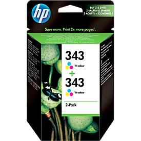 Sparpaket 2 Stück HP Druckpatrone Nr. 343 color (CB332EE)