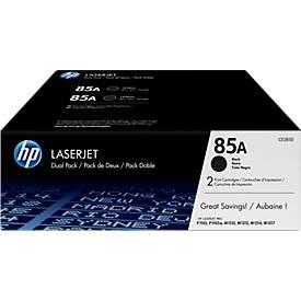 Sparpaket 2x HP LaserJet CE285AD Druckkassetten schwarz