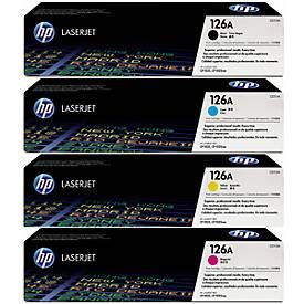 Sparpaket HP 4x Druckpatronen (CE310A/CE311A/CE312A/CE313A)