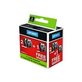 Sparset D1-Schriftbandkassette 45013, B 12 mm x L 7 m, 3 kaufen - 2 bezahlen
