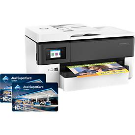 Sparset HP OfficeJetPro 7720 All-in-one + Gratis 20 Euro Aral-Kraftstoffgutschein