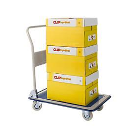 Sparset Kopierpapier CLIP Paper@Print + Transportwagen