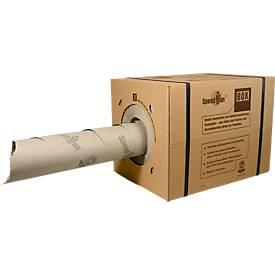 SpeedMan® - die mobile Spendebox mit umweltfreundlichem Packpapier